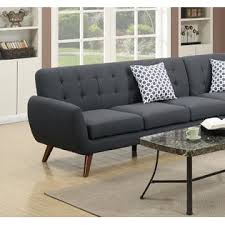 esofastore living room 2 pcs sectionals sectional sofa loveseat