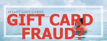 hotel gift card hyatt hotels gift cards check your balance possible fraud