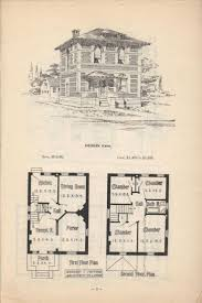 Small Victorian House Plans 2369 Best 1800 U0027s 1940 U0027s House Plans Images On Pinterest Vintage