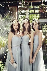 grey bridesmaid dresses 38 beautiful bridesmaids dresses weddingomania