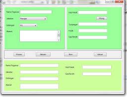 Kumpulan Tutorial Java Netbeans | aplikasi sederhana java netbeans belajar bersamaku
