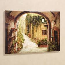 morning stroll canvas wall art