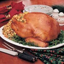 classic stuffed turkey recipe taste of home