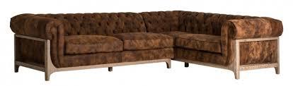 canapé d angle en cuir marron canapé d angle vintage cuir marron drys lestendances fr