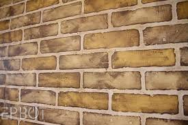 brick walls epbot diy faux brick painting tutorial
