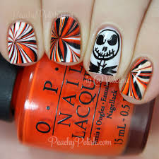 happy halloween more halloween nail art peachy polish