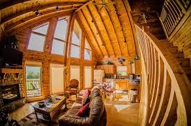 hillside luxury log cabin rental in west virginia youtube