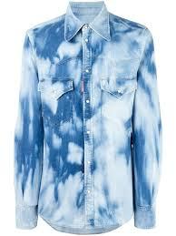 dsquared2 shirts u2013 dress shirts for men u2013 farfetch