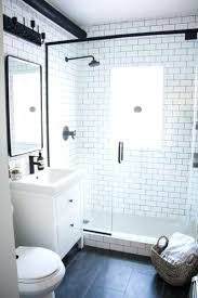 Shower And Bathrooms Tiles White Subway Tile Bathroom Tub White Subway Tile With
