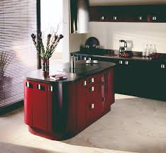 Red Gloss Kitchen Doors Contact Us Priory Kitchen Studio