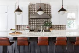 backsplash for kitchen without cabinets where to start and stop your backsplash