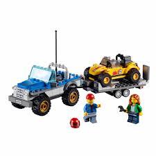 lego police jeep lego city great vehicles dune buggy trailer walmart com