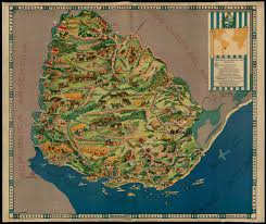 Map Of Uruguay Maptitude