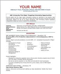Free Basic Resume Template Free Basic Resume Templates Exle Of Basic Resume Free