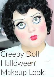 Creepy Doll Costume Creepy Doll Halloween Makeup Look W Faux Freckles Everyday Starlet