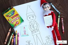 elf on the shelf coloring pages for kids 10 christmas coloring pages for kids tip junkie