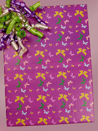 purple gift wrap wrapping paper sheets