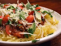 Main Dish With Sauce - spaghetti squash with meat sauce recipegirl