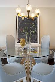 Octagon Dining Table Room Contemporary With Black Chairs Pendant - Octagon kitchen table
