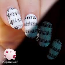 piggieluv 1 nail art design 4 ways video tutorial