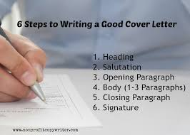 writing a good cover letter a step by step writing guide