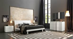 Small Bedroom Look Larger Bedroom Grey White Modern Striped Oriental Area Rug White