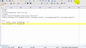 creating a html template basic tutorial youtube