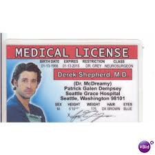 Anatomy Halloween Costumes Derek Shepherd Mcdreamy Patrick Dempsey Greys Anatomy