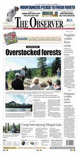 Elgin Oregon Wildfire by The Observer Paper 07 30 14 By Northeast Oregon News Issuu