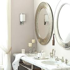 Oval Bathroom Mirrors Brushed Nickel Brushed Nickel Bathroom Mirrors Brushed Nickel Framed Mirror Photo