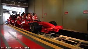 in abu dhabi roller coaster kimi raikkonen takes on planet s fastest rollercoaster at