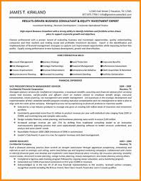 Business Consultant Resume 8 Consulting Resume Template Driver Resume