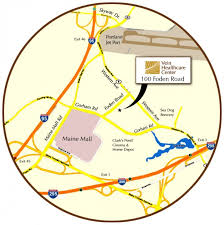 maine mall map visit the vein healthcare center map directions to our