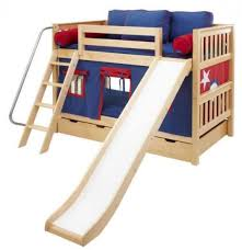 Kid Loft Beds Best 25 Bunk Bed With Slide Ideas On Pinterest Cabin Bed With