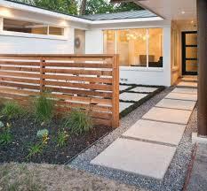 landscape modern landscape ideas for front of house craft room