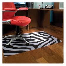 Hardwood Floor Chair Mat with Resin Chair Mat For Hard Floor Rectangular Black Cm21442fblkcom