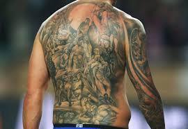 tattoo ibrahimovic names zlatan ibrahimovic s back tattoo is one of a kind but can you