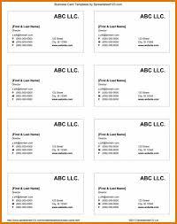 Biz Card Template Business Card Template Google Docs Best Business Template
