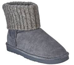 sweater boots lamo suede water resistant boots with sweater cuff empire page