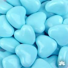 candy hearts light blue candy hearts 130g caljavaonline