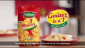 3 fr cuisine les 3 minutes panzani publicité février 2017