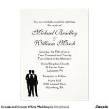 Groom And Groom Wedding Card Bride And Groom Black And White Card Wedding Invitations