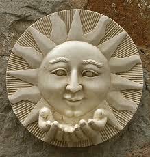 garden wall plaques sun moon wall plaques sun wall plaque