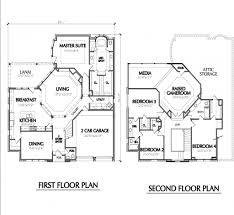 Luxury Plans 2 Storey House Plans Home Design Ideas With Regard To Luxury 2