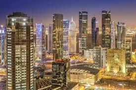 Doha Qatar Map Qatar