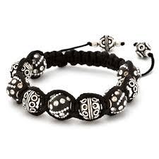 shamballa bracelet images Shamballa bracelet with black kashmiri beads copper beads jpg