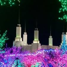 mormon temple festival of lights mormon temple visitor center and the festival of lights 120