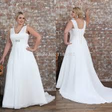 empire waist plus size wedding dress get cheap wedding gown empire waist plus size beaded