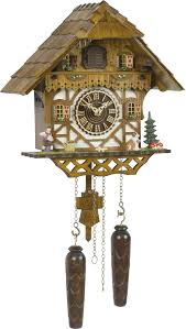 Chalet Style Cuckoo Clock Quartz Movement Chalet Style 29cm By Trenkle Uhren