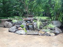 Waterfall Backyard Best 25 Backyard Waterfalls Ideas On Pinterest Garden Waterfall